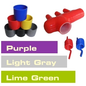 Silicone Hose Color / Silicone Tubing Colour / Purple Grey Lime Green, ISO Certificated Manufacturer pictures & photos