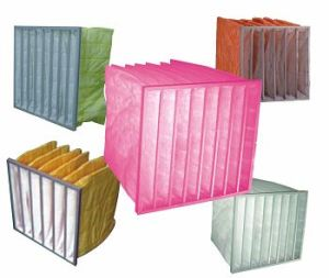 Synthetic / Microglass Fiber Bag Filter Fabric for Air Conditioner Filter pictures & photos
