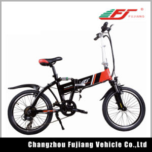 36V 250W Brushless Mini Electric Bicycle Folding Bike pictures & photos