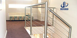 Indoor & Outdoor Steel Cable Balustrade and Handrails pictures & photos