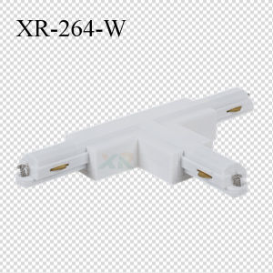PC Material 2 Wires LED Lighting Track T-Shape Connector (XR-264) pictures & photos