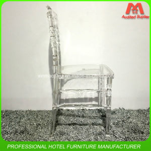 Hot Sale Crystal Hotel Banquet Wedding Resin Napoleon Chair pictures & photos