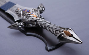 Cosplay Movie Sword of Wow/ Anduin Lothar Sword Replica pictures & photos