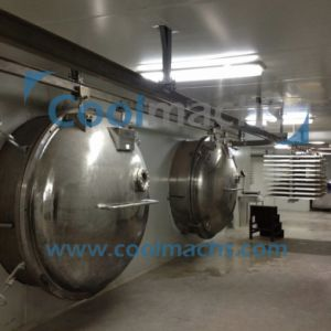 Banana/Fruit Snacks Vacuum Freeze Dryer/Snacks Lyophilizer pictures & photos