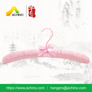 Satin Padded Shirt Hangers for Women (SPH010) pictures & photos