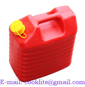 HDPE Plastic Petrol Diesel Jerry Can Polyethylene Gas Fuel Can 10L pictures & photos