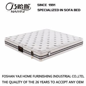 Natural Latex Spring Mattress for Home or Hotel Furniture Fb732 pictures & photos