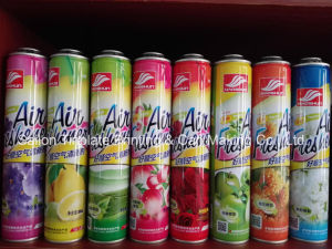 Tin Can of Air Freshener Spray Package pictures & photos