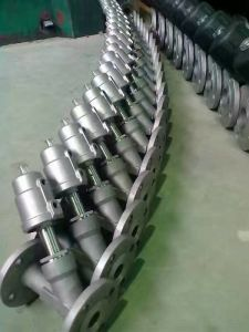 Stainless Steel Pneumatic Angle Seat Valve Kt pictures & photos