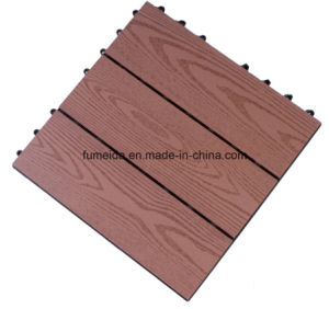 WPC DIY Decking Tile for Wood Grain Dt 007 pictures & photos