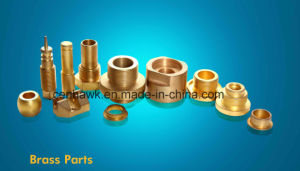 Precision Turning Brass Parts pictures & photos