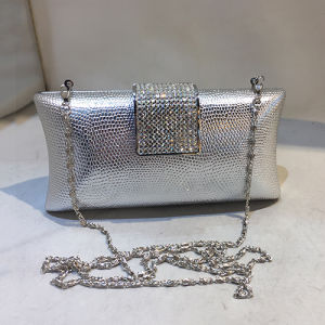 Fashion Evening Bag Lady Clutch Handbag with Crystalstone for Party Eb770 pictures & photos