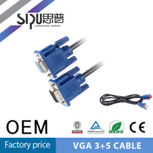 Sipu 3+5 VGA Male to Female PC Monitor LCD Cable pictures & photos