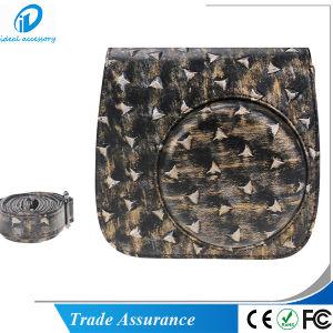 Metallic Style Fujifilm PU Leather Instax Mini8 Mini8 Plus Case Bag pictures & photos