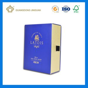 High Quality Wine Bottle Packaged Box Drawer Cardboard Box (Brand Wine Box) pictures & photos
