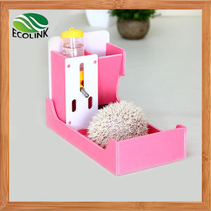 Pet House with Food Bowl Water Bottle & Toielt for Small Animal Hedgehog Guinea Pigs pictures & photos