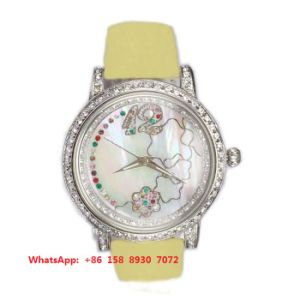 Great Nice Quartz Watch with Genuine Leather Strap for Women Fs552 pictures & photos