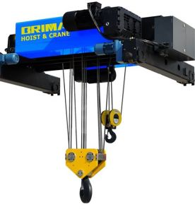 Brima 32/5t Europe Type Double Hook Double Girder Electric Wire Rope Hoist Crane pictures & photos