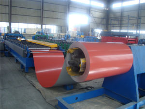 High Speed Galzed Tile Making Machinery Framing Roll Former pictures & photos