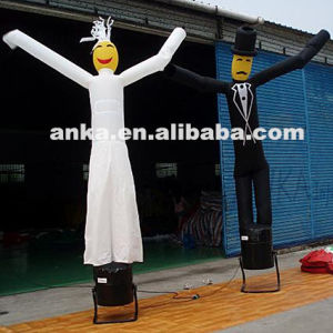 New Design Inflatable Bride and Groom Dancer pictures & photos