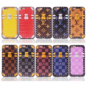 Combo Material 2 in 1 Plating Lattice TPU+PC Cell Phone Case for Samsung J5 Prime J2 Prime A810 2016 iPhone 7/7 Plus (XSEH-026) pictures & photos
