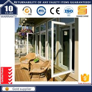 Waterproof Toilet Casement Sash Aluminum Window with Fixed Glass pictures & photos