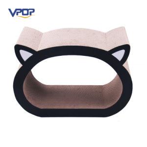 Wholesale Cat Head Shape Corrugated Cat Scratcher