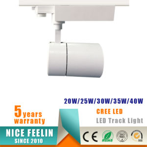 Aluminum Housing 25W LED Spot Track Light with Ce RoHS pictures & photos