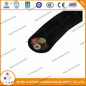 UL62 3c 4c 5c 16AWG 14 AWG 12AWG 10 AWG Epr Insulation CPE Sheath Rubber Power Cable S, So, Soo, Sow, Soow pictures & photos