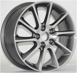 17 Inch Car Aluminum Wheels with PCD 5*114.3 pictures & photos