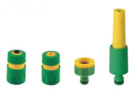 Adjustable Hose Nozzle 1/2 4PCS Set pictures & photos