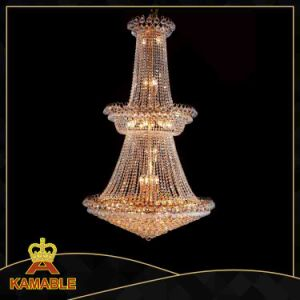 Elegant Crystal Hotel Custom-Made Large Crystal Chandelier (8018-L45) pictures & photos