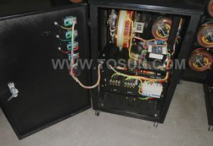 SVC Three Phase Automatic Voltage Stabilizer 6kVA pictures & photos