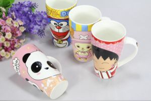 Color Glazed Customized Design Coffee Tea Ceramic Cups Mugs pictures & photos