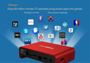 T95u TV Box 2g 16g Octa Cora Amlogic S912 Pendoo Dual Band WiFi Android 6.0 TV Box pictures & photos