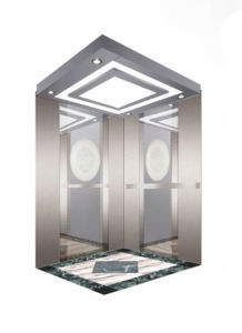 Standard Type Passenger Lift with Stainless Steel Cabin pictures & photos