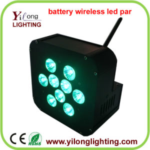 9X15W Battery Powered LED Bar for Disco Wedding Party pictures & photos