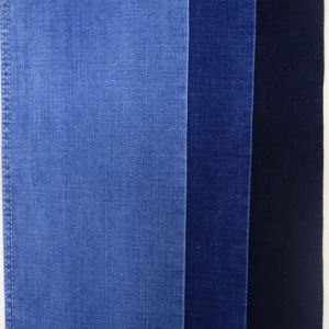 Dark Blue Stretch Denim Fabric (T119) pictures & photos