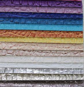 Popular Embossed Croco PU PVC Bag Handbag Leather (YB035) pictures & photos