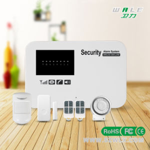 APP Controlled Wireless and Wired GSM Home Security Alarm System pictures & photos