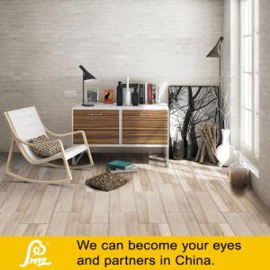 Khaki Digital Wooden Porcelain Rustic Tile 150X900mm pictures & photos