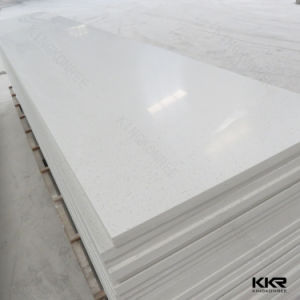 Kkr White Building Material Artificial Stone Solid Surface pictures & photos