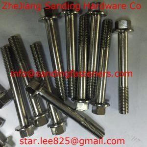 for CD70 Carbon Steel Hex Flange Bolts/DIN6921 pictures & photos
