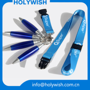 Promotional Sublimation Lanyards Neck Strap with Ball Pen pictures & photos