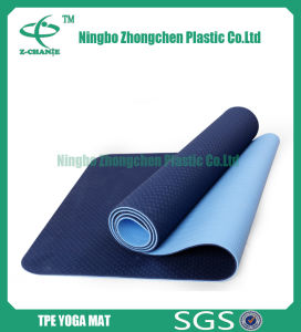 Non Toxic Custom TPE Yoga Mat Exercise Mat pictures & photos