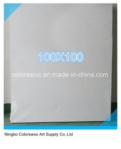 100*100cm Stretched Canvas for Painting and Drawing pictures & photos