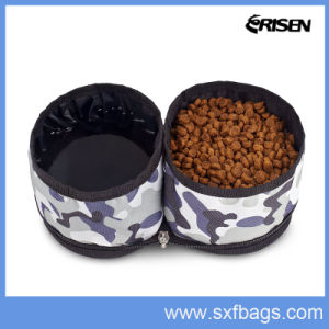 Portable Collapsible Travel Pet Dog Food Water Bowl pictures & photos