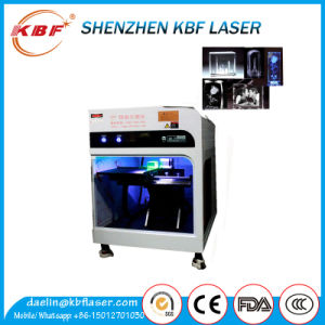 Enclosed Glass and Crystal Inner Green Laser Engraving Machine pictures & photos