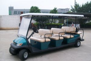 Cheap 11 Passengers Electric Golf Buggy for Sale pictures & photos
