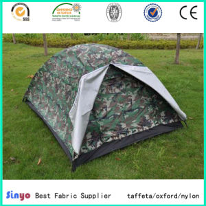 Light Weight 210d Ripstop Camo Printed Tent Fabric pictures & photos
